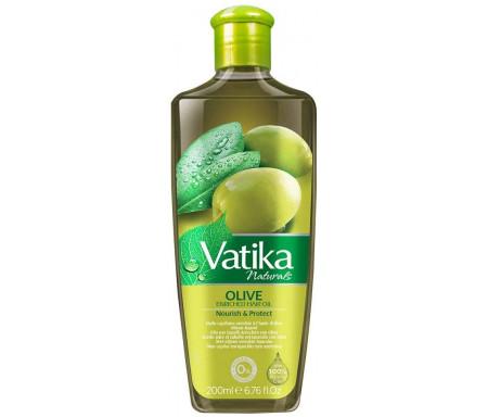 Huile Vatika à l'olive pour les cheveux - Vatika Olive Enriched Hair Oil - 200 ml