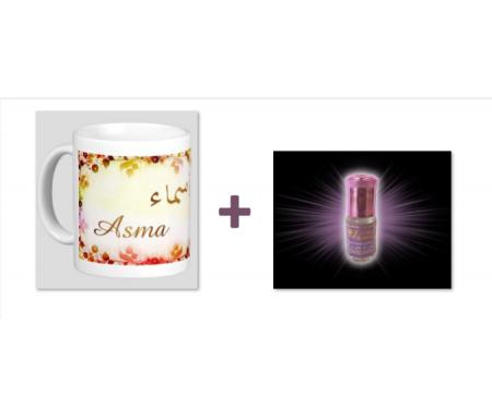 """Pack Mug (tasse) + Parfum """"Asma"""""""