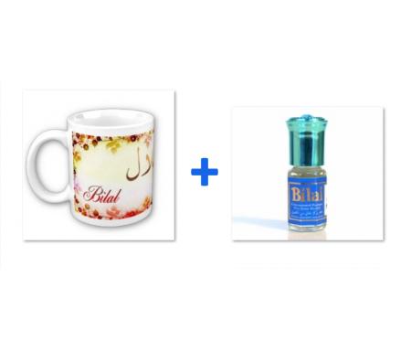 """Pack Mug (tasse) + Parfum """"Bilal"""""""