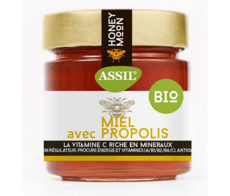 Miel à la propolis BIO 350gr