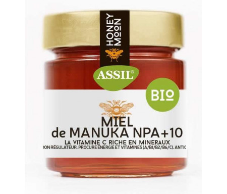Miel à la manuka bio ASSIL 220g