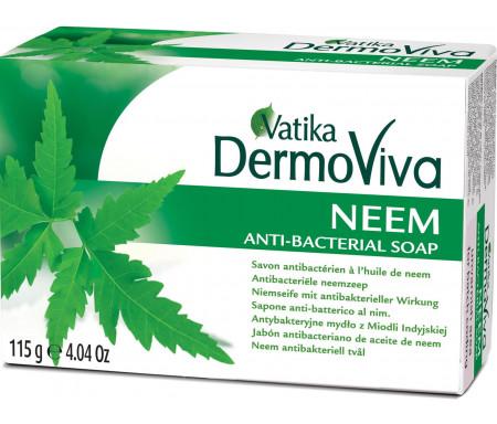 """Savon anti-bactérien à la plante de Neem """"DermoViva"""" 115gr"""