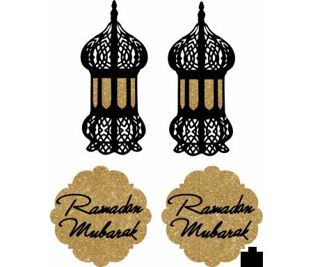 Lot de 2 Médaillons du Ramadan