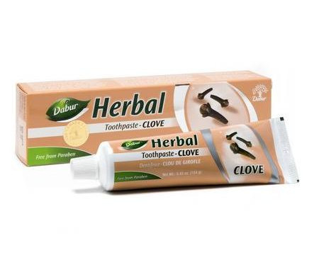 Dentifrice au clou de girofle Herbal sans Fluor 155gr