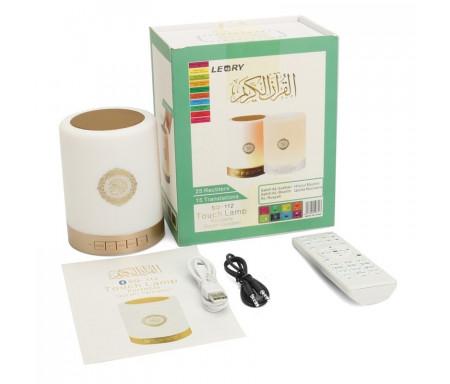 Lampe Veilleuse Coranique avec Coran, Boukharî, Muslim, Hadîth, Dua, Tafsîr, FM, MP3, Bluetooth