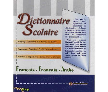 Dictionnaire Scolaire Français-arabe