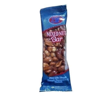 Barre mixte : Amandes / Cacahuètes / Noisettes au miel 40g - FEIZA