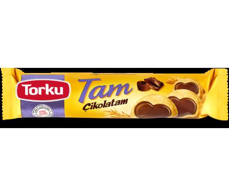 Biscuits à l'avoine au Chocolat au Lait - 1 Paquet individuel 83gr - TORKU