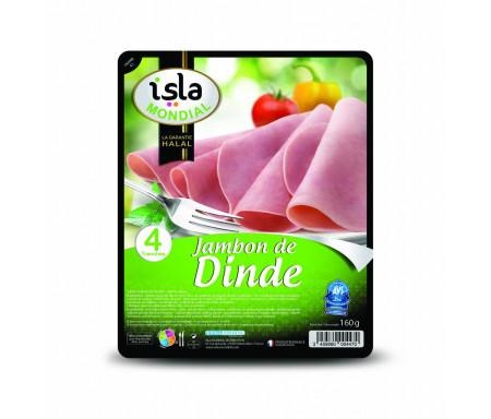 Jambon de Dinde cuit certifié AVS 160gr (4 tranches) - Isla Mondial