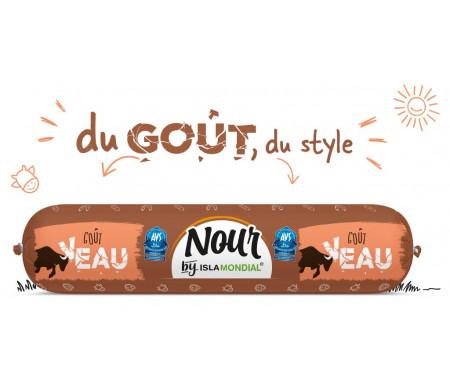 Saucisson Délice de Volaille / Bœuf NOUR Halal certifié AVS 450gr - Isla Mondial