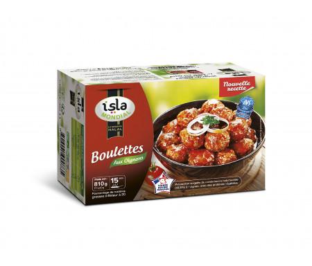 Boulettes de Bœuf aux Oignons Halal certifié AVS 810gr - Isla Mondial
