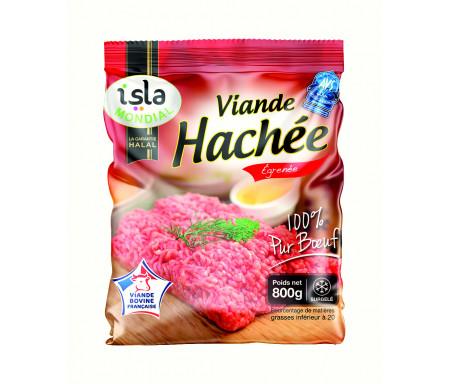 Viande Hachée Égrenée Pur bœuf Halal certifié AVS 800gr - Isla Mondial