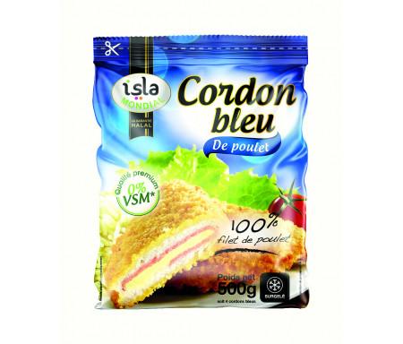 Cordons Bleus 100% Filets de Poulet Halal certifié AVS 500gr - Isla Mondial