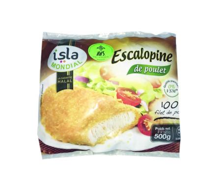 Escalopine 100% Filets de Poulet Halal certifié AVS 500gr - Isla Mondial