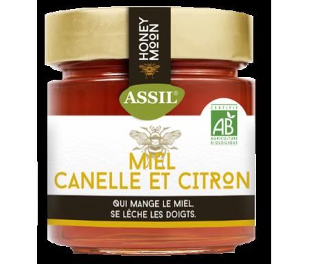 Miel Canelle et Citron BIO 350g