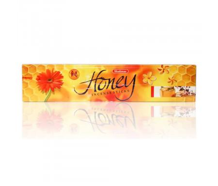 """20 Batônnets d'encens Bakhour Shalimar """"Honey / Miel"""" au parfum de Miel (batônnets grande taille)"""