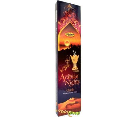 """Batônnets d'encens Bakhour """"Arabian Nights"""" au parfum chaleureux et oriental (batônnets grande taille)"""