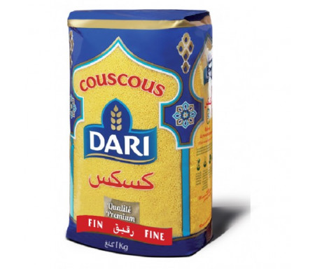 Couscous DARI de Qualité Premium - Fin 1kg