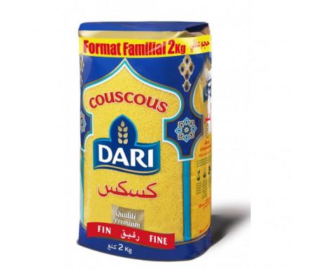Couscous DARI de Qualité Premium - Format FAMILIAL - Fin 2kg