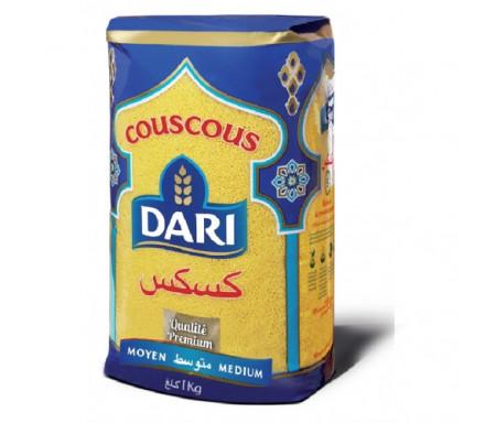 Couscous DARI de Qualité Premium - Moyen 1kg