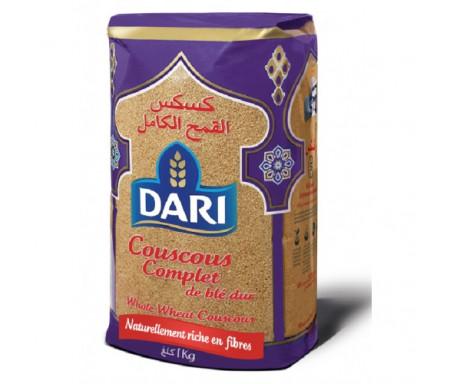 Couscous Complet de blé dur DARI (Riche en fibres) - 1kg