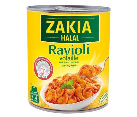 Plat cuisiné Ravioli à la Volaille Halal 800gr - ZAKIA