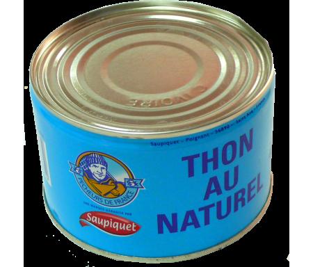 Thon Entier au Naturel en conserve SAUPIQUET - 400gr