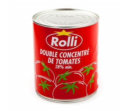 Double concentré de Tomates ROLLI en conserve - 880gr