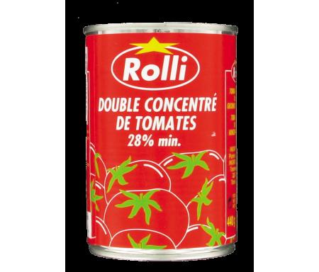 Double concentré de Tomates ROLLI en conserve - 440gr