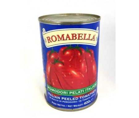 Tomates pelées d'Italie ROMABELLA en conserve - 800gr