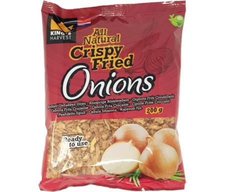 Oignons frits snack HAUDECOEUR en Sachet - 200g