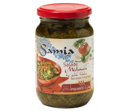 Salade Méchouia piquante en pot 350gr - SAMIA