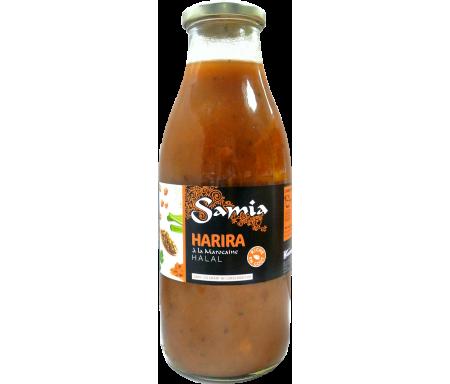 Harira liquide en brique Halal à l'Algérienne pour 4 personnes 970gr - SAMIA