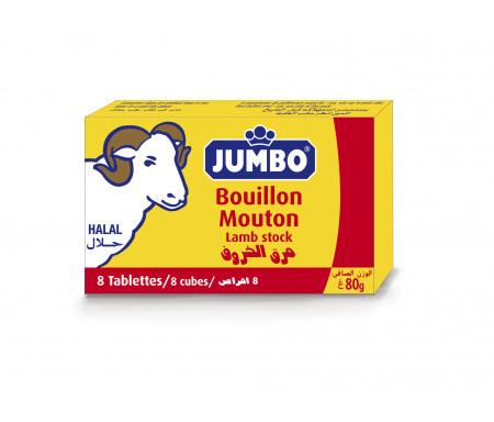 Bouillons Halal Jumbo Bleu au Mouton 8 cubes (80gr)