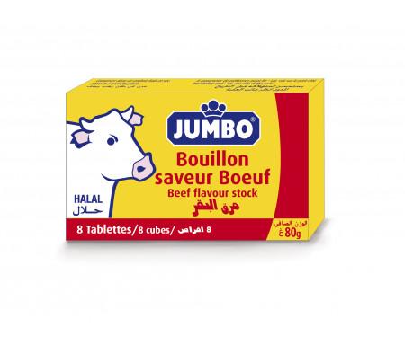 Bouillons Halal Jumbo Bleu au Bœuf 8 cubes (80gr)
