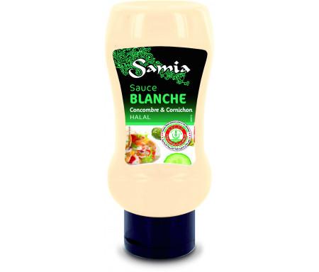 Sauce Blanche Concombre & Cornichon Halal 350ml - SAMIA