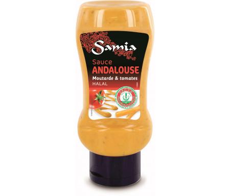 Sauce Andalouse Moutarde & Tomates Halal 350ml - SAMIA