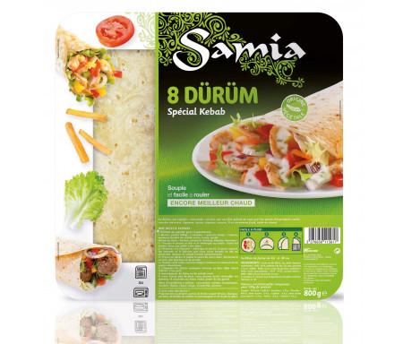 Dürüm / Tortillas Grande galettes 8 x 30cm / 800gr - SAMIA