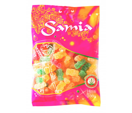 Bonbons Halal Oursons 200gr - SAMIA