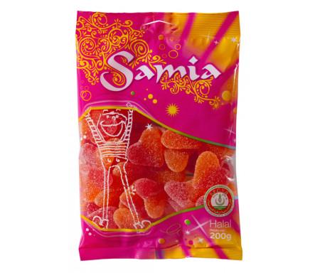Bonbons Halal Cœurs de pêche 200gr - SAMIA