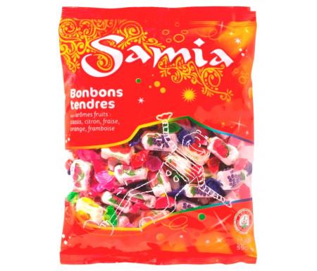 Bonbons Halal tendres Fruits assortiment de 590gr - SAMIA