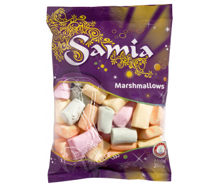 Bonbons Halal Marshmallow tendres 250gr - SAMIA
