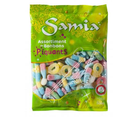 Bonbons Halal acidulés Assortiment 500gr - SAMIA