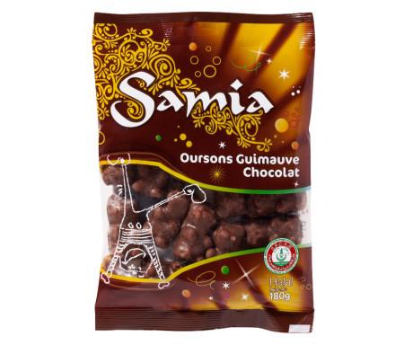 Bonbons Halal Oursons moelleux au Chocolat 180gr - SAMIA