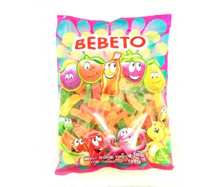Bonbon Bebeto frite au vrai jus de fruit