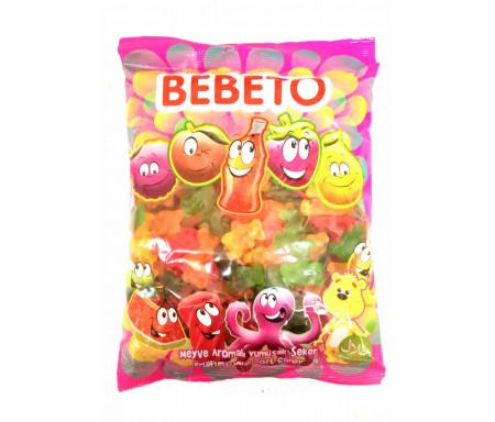 Bonbons Halal Oursons (Bears) au vrai jus de fruit 1kg (Format Familial) - Bebeto
