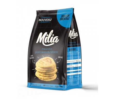 Préparation pour Pancakes du Maroc 500gr - MILIA