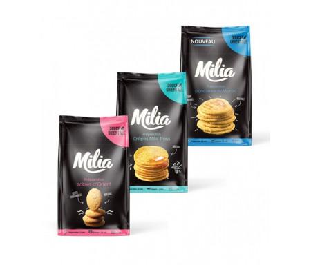 Pack Douceurs Préparation pour Pancakes, Crêpes & Sablés - MILIA