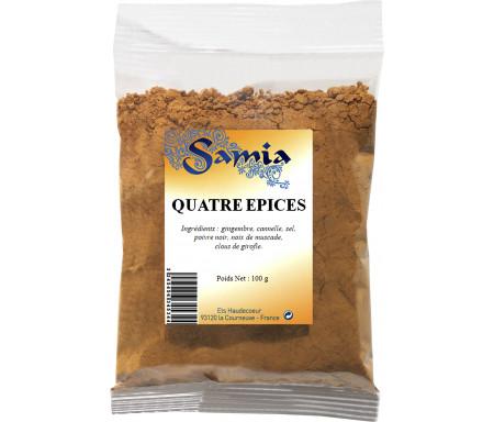 Quatre (4) Épices en poudre / moulu en Sachet de 100gr - SAMIA
