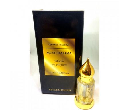 "Coffret prestige Musc Halima Absolu de Parfum 12 ml ""Edition limitée"" El Nabil"